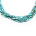 Blue Moon 4-in-1 Necklace Mulsti Strand Close 962
