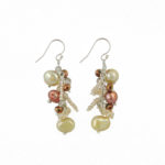 Dazzle Me Caramel Earrings 922b