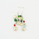 Dazzle Me Confetti Earrings Close 942b