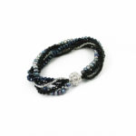 Dazzle Me Midnight Dance Bracelet 925a