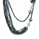 Dazzle Me Midnight Dance Necklace 925
