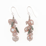 Dazzle Me Pink Earrings Close 920b