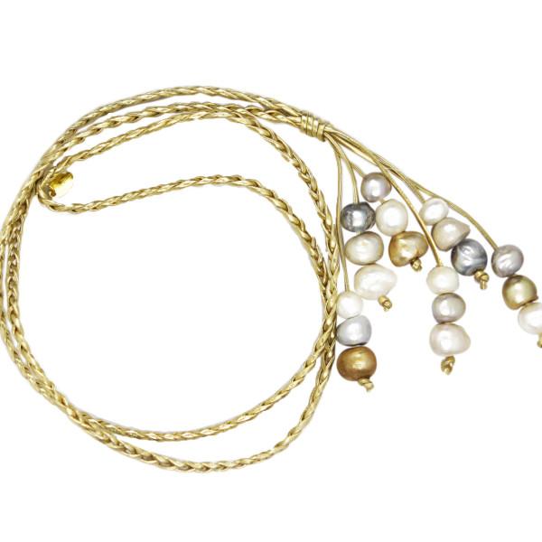 disco necklace simply marcella