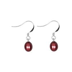 Endless Love Earrings Cherry Red
