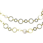 Extraordinary Ring Necklace 1055 Double