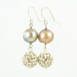Gavotte Earrings Hanging Together 837c