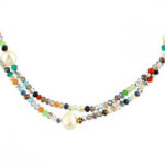 Glitter Necklace Close 941