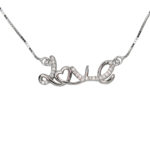 Love Me Necklace 1057
