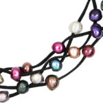 Mardi Gras Necklace Multicolor 1066