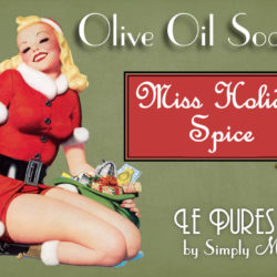 miss holiday spice soap