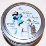 Miss Northern Michigan Soy Candle Front LP02-13