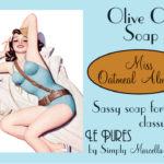 Miss Oatmeal Almond Soap Package Front LP01-3