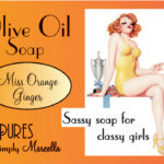 Miss Orange Ginger Soap Package Front LP01-6