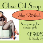 Miss Patchouli Soap Package Front LP01-7