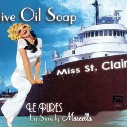 Miss Saint Clair Soap Package Front LP01-22