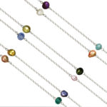 Pearl Mosaic Necklace 1098b