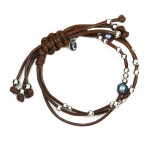 Perfect Match Bracelet Mens Brown