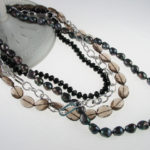 Smoke and Sparkle Necklace 430