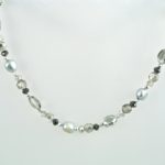 Symphony of Silver Necklace Hanging 769