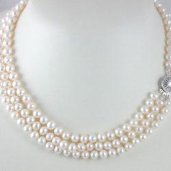 Triple-Strand Necklace 18