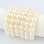 White Chocolate Parfait Stretch Bracelet On(2) 801