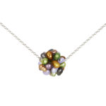 Wildflower Charm Necklace 1035b and 1035c