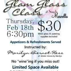glam glass class promo sc