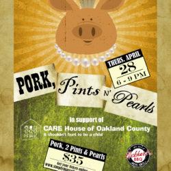 pork and pearl promo card