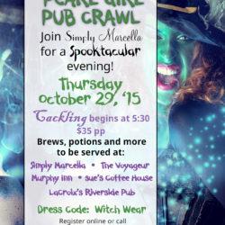 wicked girl pub crawl 2015
